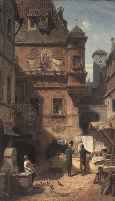 Karl Spitzweg. The art and science