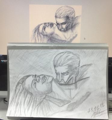 Olga Vladimirovna Ivanova. Drawing