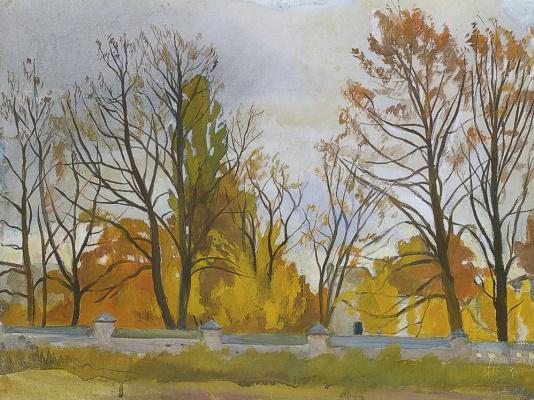 Zinaida Serebryakova. Autumn Park