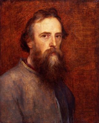 Джордж Фредерик Уоттс. Автопортрет. 1860