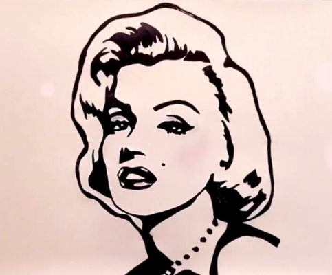 Unknown artist. Marilyn Monroe