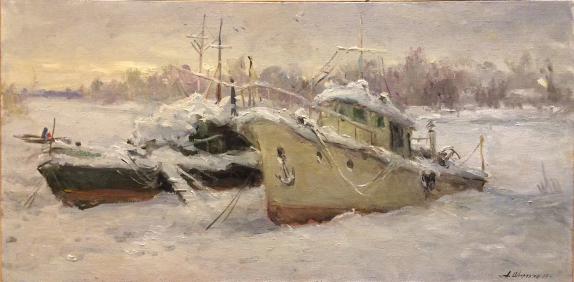 A. N. Shirokov. Winter sleep