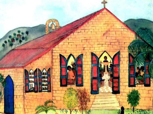 Фран Лессак. Церковь