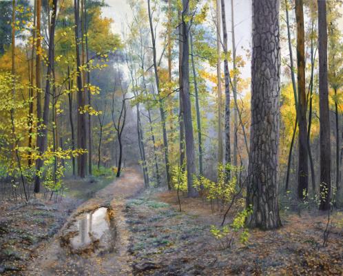 Sergei Lutsenko. The breath of autumn