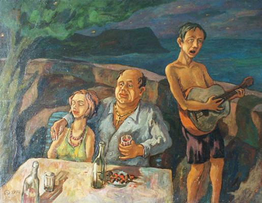 Aleksander Kovalchuk. Dinner in Koktebel