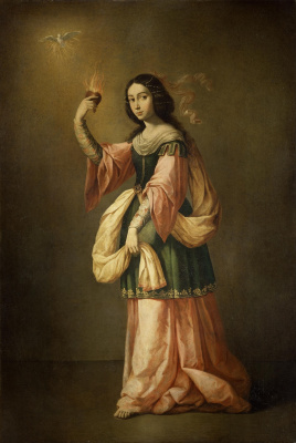 Francisco de Zurbaran. Allegory Of Mercy