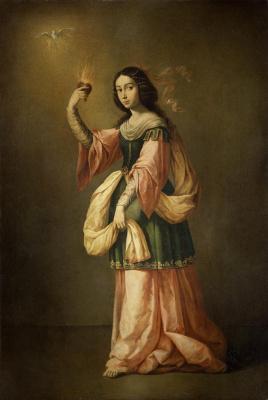 Francisco de Zurbaran. Allegory Of Mercy