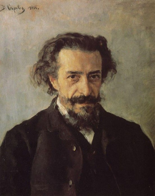 Valentin Aleksandrovich Serov. Portrait of composer P. I. Blaramberg