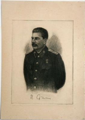 Семен Иванович Аферов. Сталин