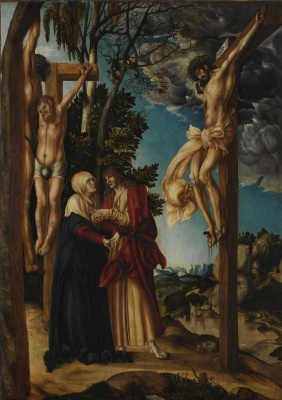 Lucas Cranach the Elder. The Crucifixion Of Christ