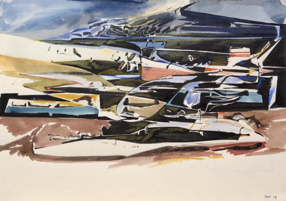 Samuel Bak. Landscape