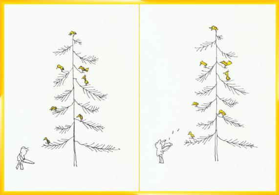 Р О Блечман. Рождественские открытки