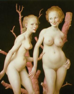 John Curran. Pink tree