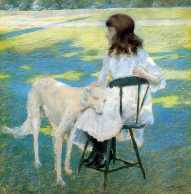 William Merritt Chase. Good friends