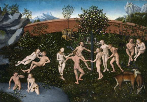 Lucas Cranach the Elder. The Golden age