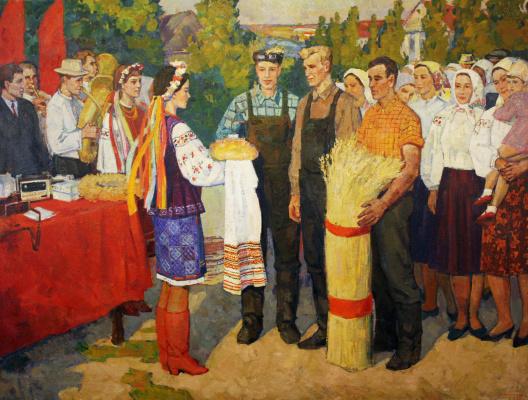 Anatoly Nikonovich Volnenko. Harvest festival