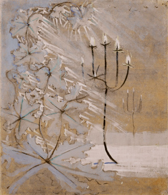 "Mikalojus Konstantinas Ciurlionis. From the cycle ""Winter"" V"