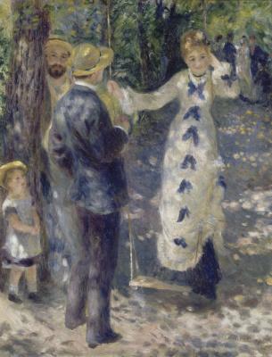 Pierre-Auguste Renoir. Swing