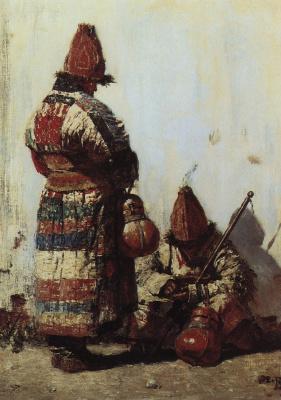 Uzbek-seller of tableware