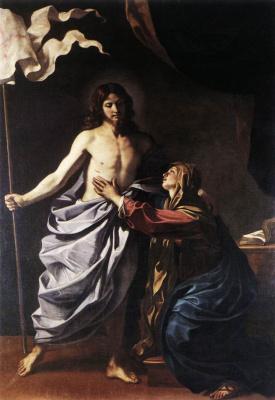 The risen Christ is the virgin