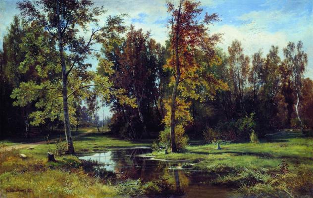 Ivan Ivanovich Shishkin. Birch forest