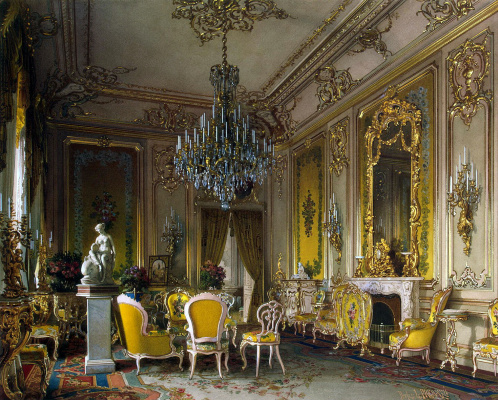 Luigi Premazzi. Living room