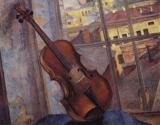 Kuzma Sergeevich Petrov-Vodkin. Violin