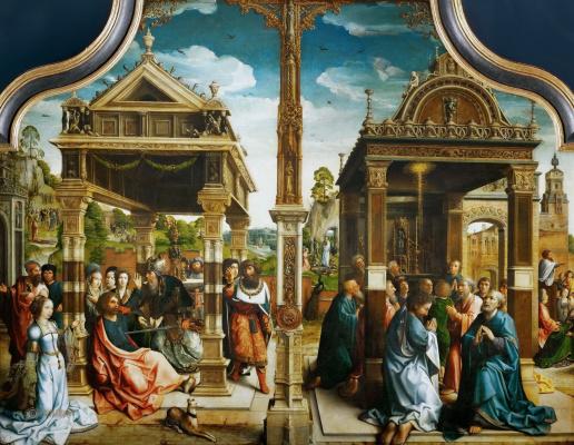 Bernart Van Orley. The altar of saints Thomas and Matthew