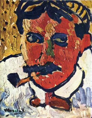 Maurice de Vlaminck. Portrait Of Derain
