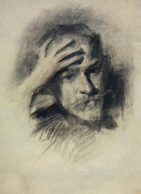 Victor Elpidiforovich Borisov-Musatov. Self-portrait