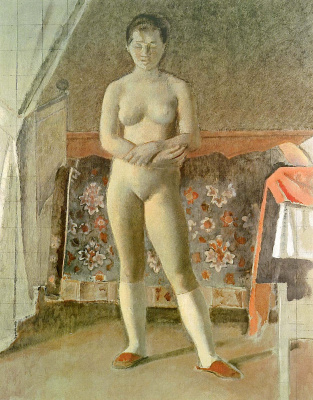 Balthus (Balthasar Klossovsky de Rola). Behind the toilet