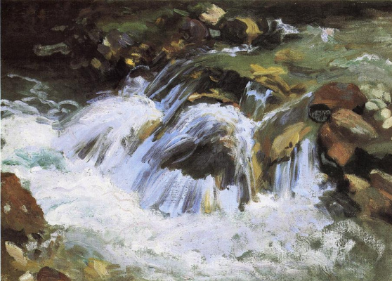 John Singer Sargent. A mountain stream Tyrol