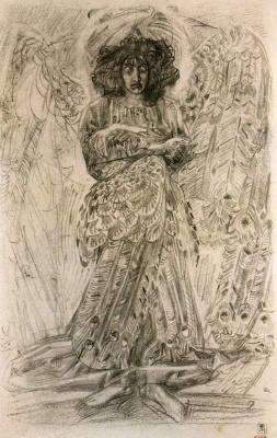Mikhail Vrubel. Seraphim