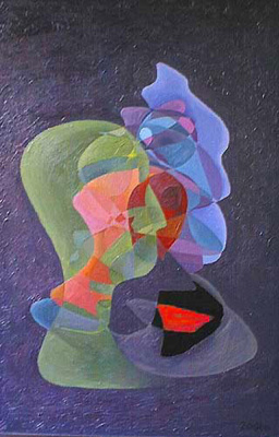 Oleg Yurievich Languages. Three metaphysical portrait. Twilight. Pending