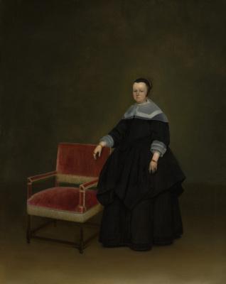 Gerard Terborch (ter Borch). Portrait of Margaret van Huxbergen