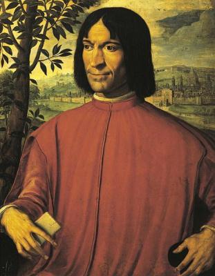 Girolamo McCetti. Portrait Of Lorenzo De ' Medici