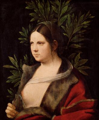 Giorgione. Laura