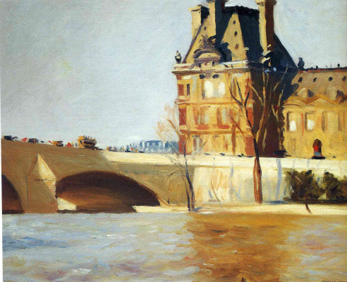 Edward Hopper. Royal bridge