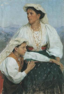 Иван Семенович Куликов. Итальянки. 1905