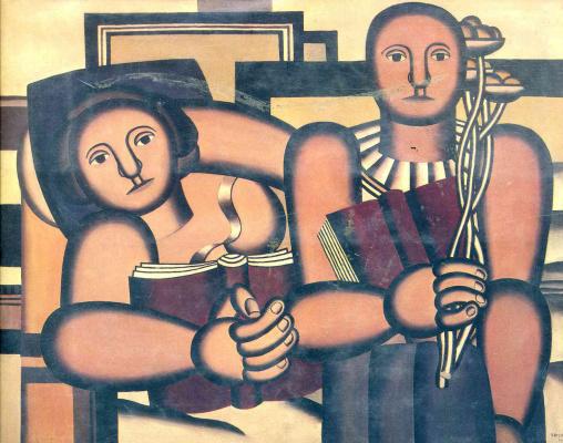 Fernand Leger. Reading