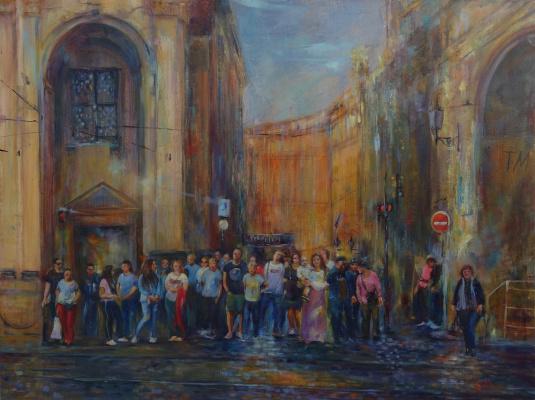 """Svetlana Alexandrovna Malakhova. """"Tourist pattern of Prague"""""""