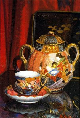 Бенджамин Паленсия. Чайный сервиз