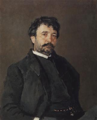 Valentin Aleksandrovich Serov. Portrait of Italian singer Angelo mazini