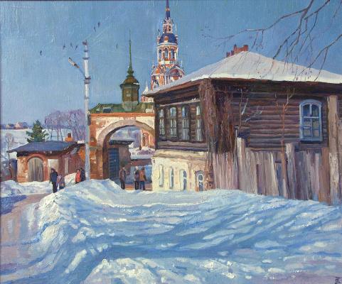 Oleg Borisovich Zakharov. The Sun Mozhaisk.