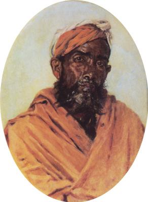 Vasily Vereshchagin. A Muslim servant