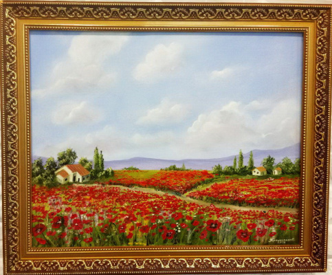 Ольга Болеславовна Горпинченко. The Italian landscape