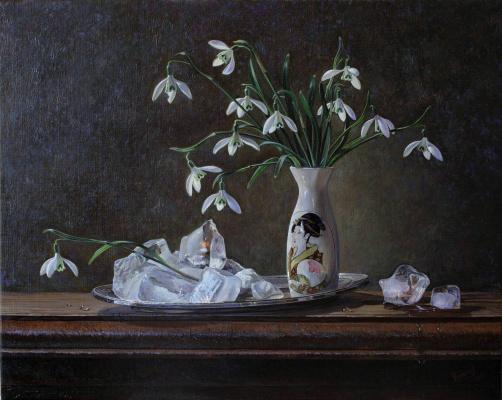 Sergey Vladimirovich Chumakov. Snowdrops