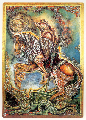 Камело Де Ла Пинта. Рыцарь, убивающий дракона