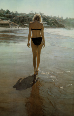 Steve Hanks. Along the shore