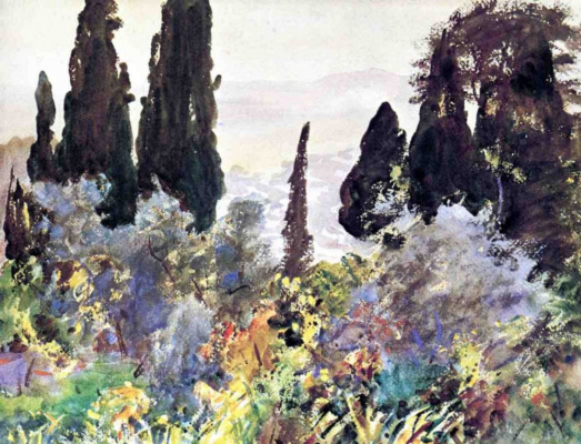 John Singer Sargent. Granada